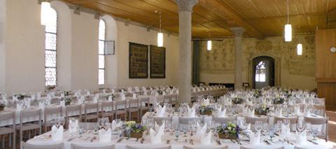 Hochzeitsfeier in Wettingen